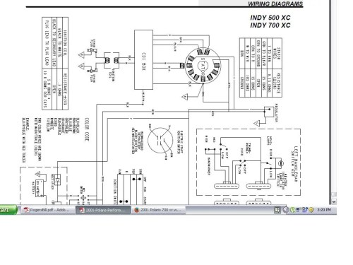 small resolution of 2001 polaris 700 xc wire help rh snowmobilefanatics com 2002 polaris xc 600 wiring diagram polaris