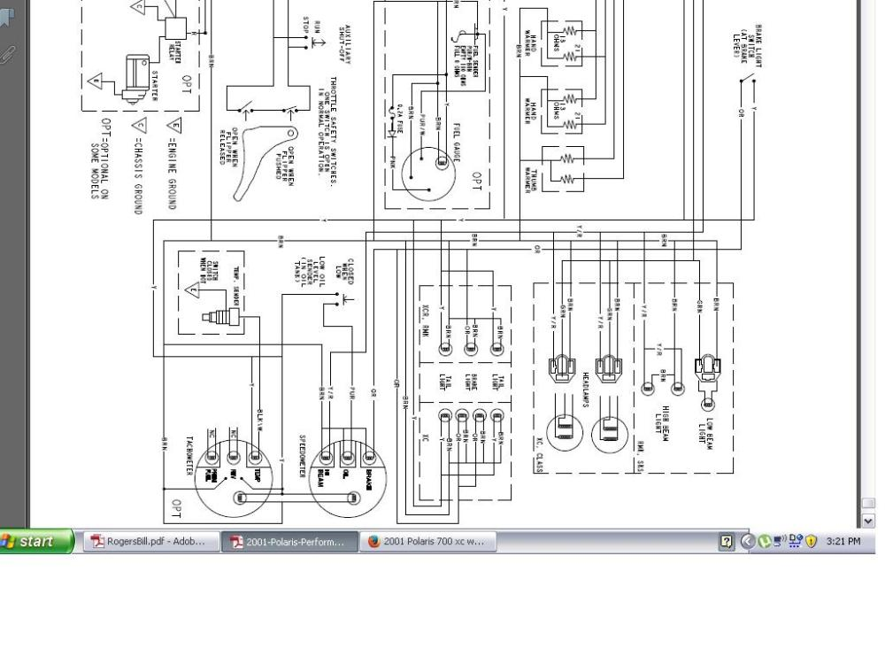 Polaris Xc Wiring Diagram Wiring Diagrams ROCK