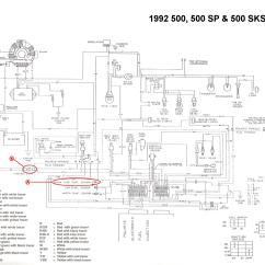 Polaris Ranger Wiring Diagram 3 Way Switch Diagrams Multiple Lights 92 Indy Quits When Warm