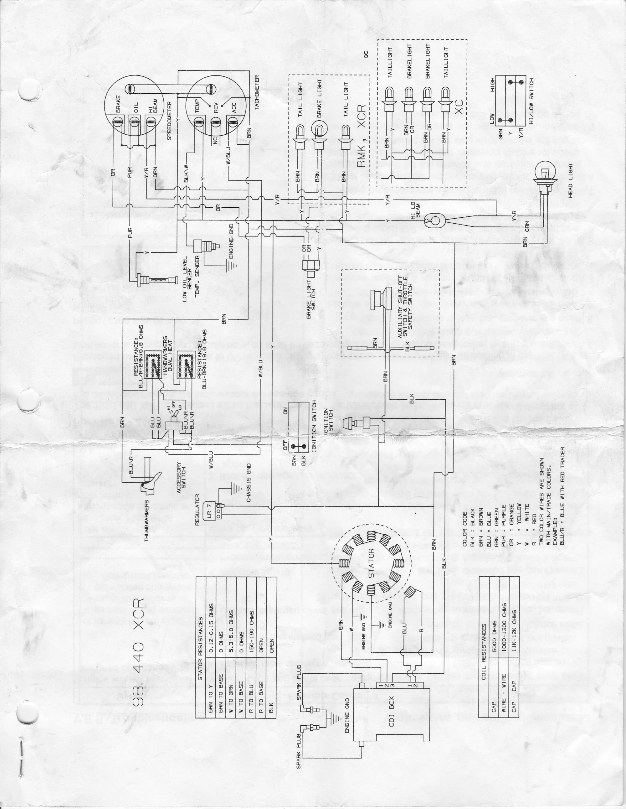 hight resolution of 2000 polaris trailblazer 250 wiring diagram