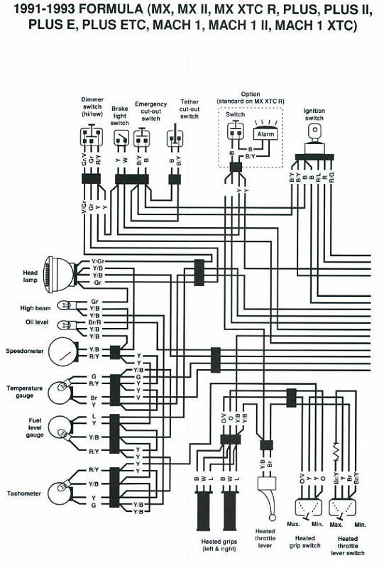 [DIAGRAM] Ski Doo Rev Wire Diagram