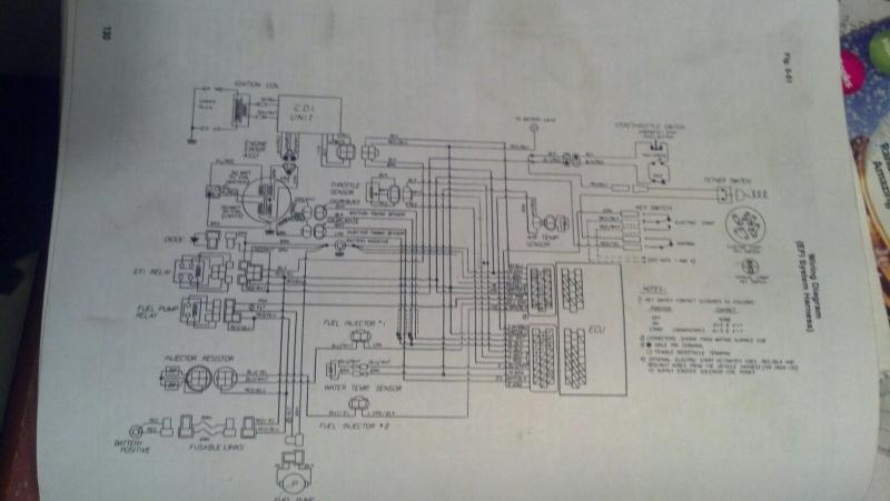 s drive wiring diagram 2001 toyota tacoma parts 550 efi - snowmobile forum: your #1 forum
