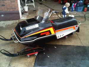 1981 Enticer 250  Snowmobile Forum: Your #1 Snowmobile Forum