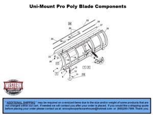 UniMount Plows  Western Snowplow Parts With Diagrams