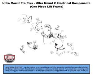 Pro Plus  Ultra Mount 2 (One Piece Lift Frame)  Pro Plus
