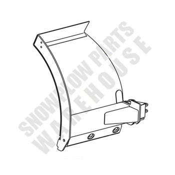 50649 WESTERN ULTRA MOUNT WIDE-OUT BLADE WING (DRIVER SIDE