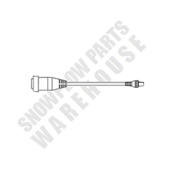 66760K WESTERN V-PLOW TO STRAIGHT BLADE ADAPTER (6-PIN
