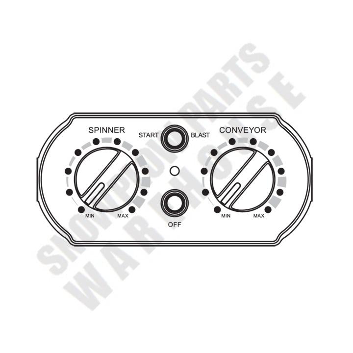 78102 WESTERN V-BOX SPREADER CONTROLLER TORNADO (0607