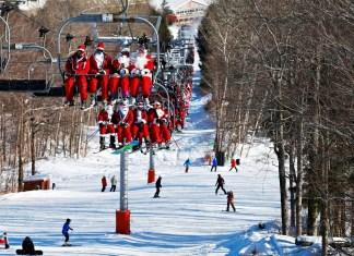 sneeuwzeker kerst skien