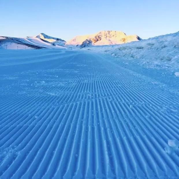 Sunrise skiën
