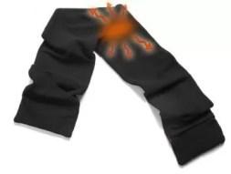Verwarmde sjaal