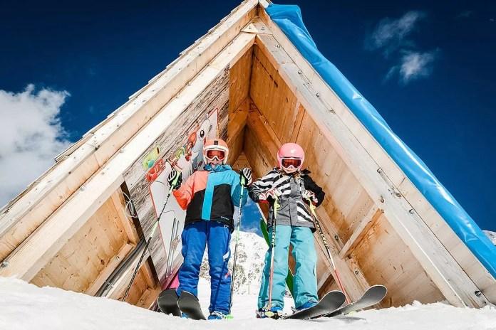 Kids in Obertauern