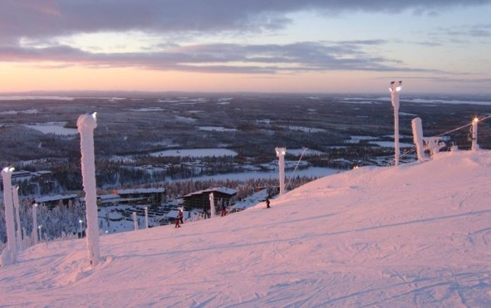 Wintersport in Ruka