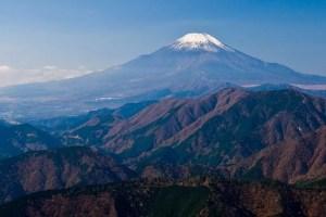 Fuji Vulkaan in Japan