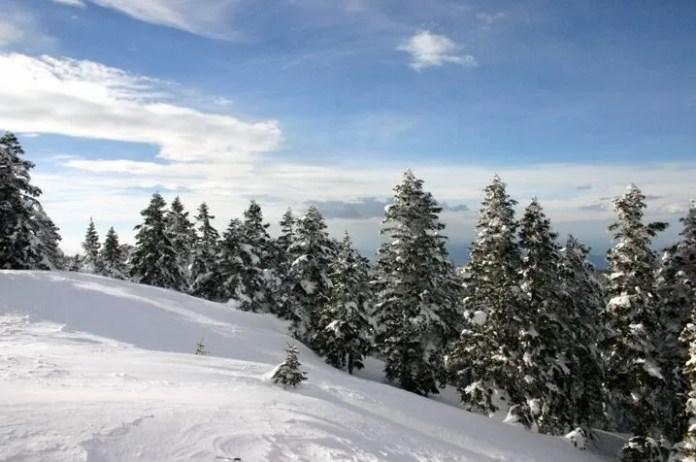 Uludağ scenery