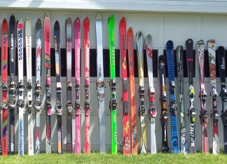 oude ski's