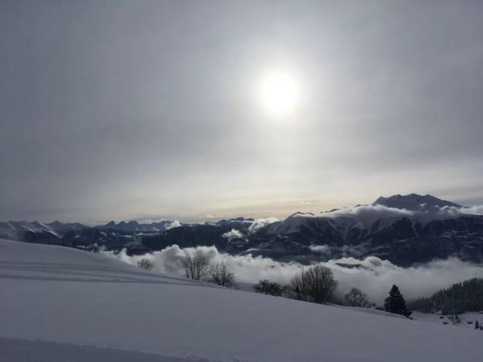 Prachtig uitzicht - Skigebied Laax - Snowrepublic