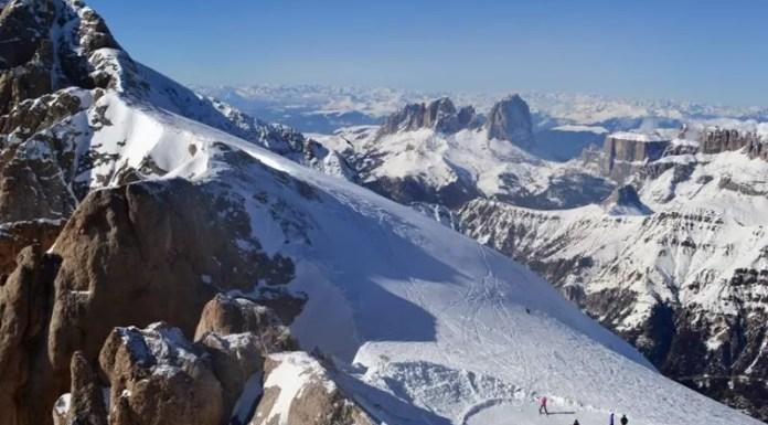 Marmolada Gletsjer