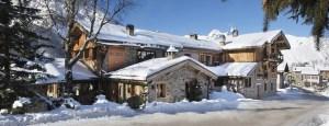 Hotel en drie Michelin sterren restaurant La bouitte