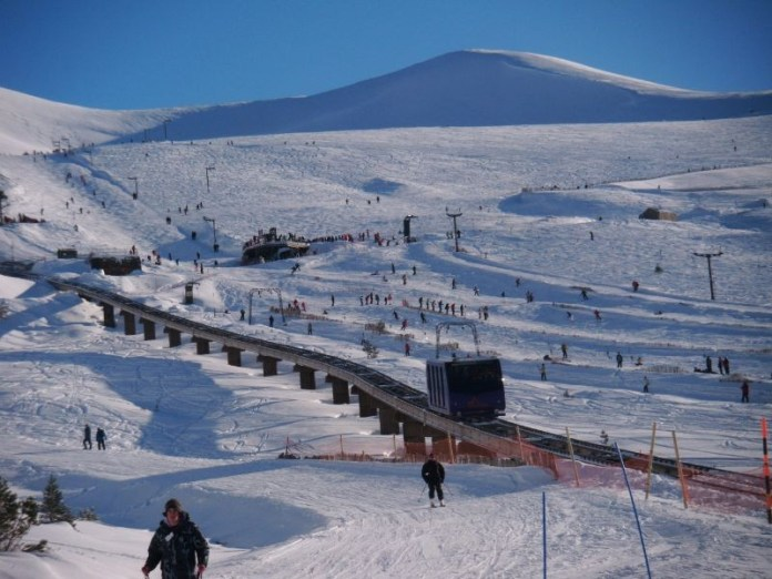 Funicular CairnGorm Mountain