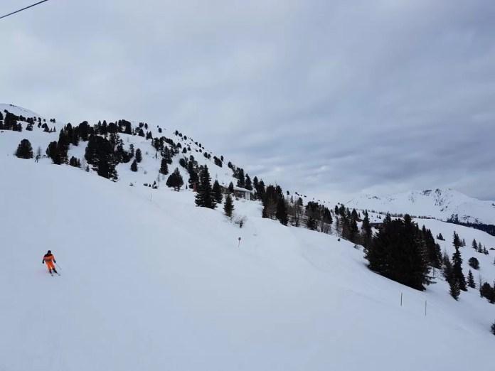Sneeuw in Zillertal