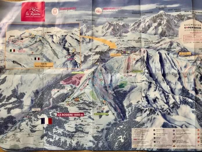Off-piste skigebied