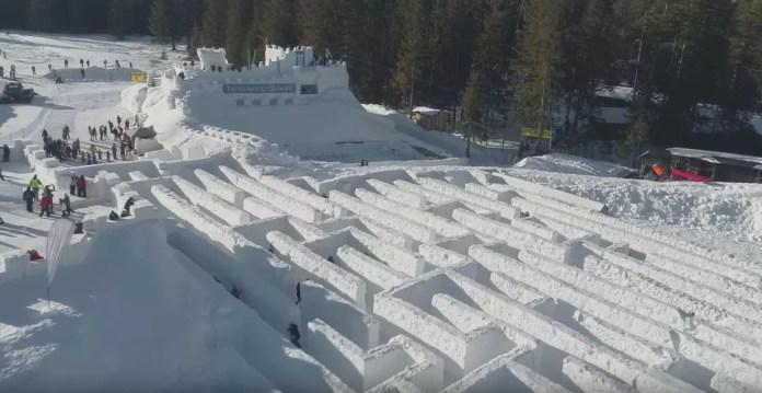 sneeuwdoolhof