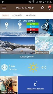 screenshot app serre chevalier