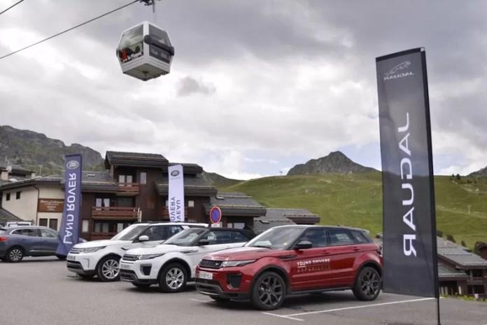 La Plagne Frankrijk Snowrepublic Land Rover Experience