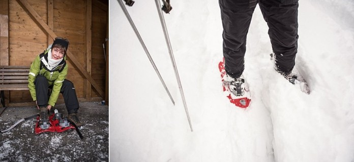 Sneeuwschoenwandelen - je hebt het zó onder de knie en bent gauw op weg! Eigen foto: Manja Herrebrugh, Snowrepublic
