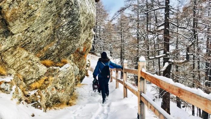 De Gorge Alpin is gemakkelijk te bereiken vanuit het dorp