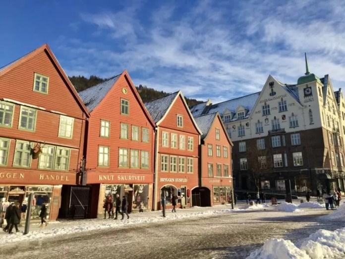 Bryggen, waarschijnlijk het meest gefotografeerde stukje Bergen!