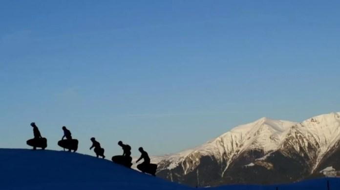 Hup de berg op, en dan in vliegende vaart naar beneden!