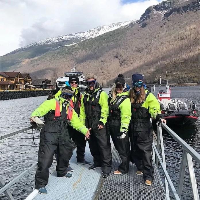 Ready to go, kom maar op met die fjordsafari