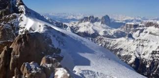 Marmolada gletsjer, Dolomiti Superski
