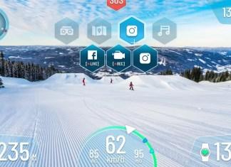 Skihelm AR-Technologie Snowrepublic