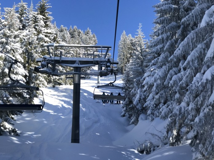 Waanzinnig mooi die verse sneeuw!