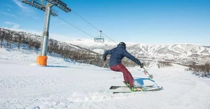Skiën Geilo Hemsedal Noorwegen