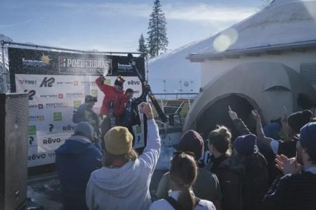 Het podium met de Skimannen (Foto: Joscha Kotlan)