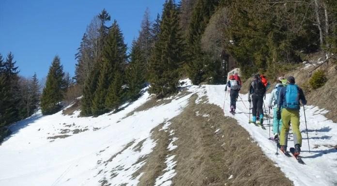 Tourskiën in het Crans Montana Rando Parc