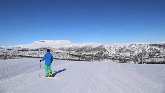 Prachtige vergezichten en fantastisch weer in Geilo, Noorwegen.