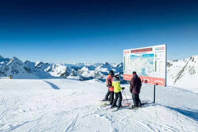 Obertauern: in totaal 100 kilometer piste en een super sneeuwzeker gebied. Foto: Obertauern.com