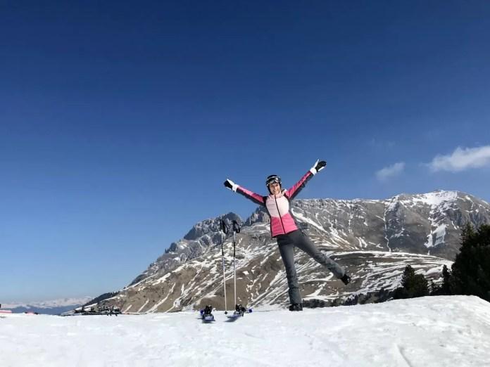 Had ik al gezegd dat het in Zuid-Tirol best vaak zonnig is?