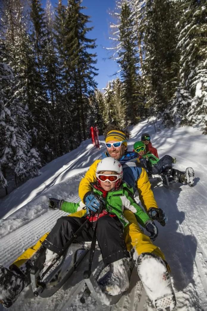Sneeuwpret is voor iedereen! Foto: visitfiemme