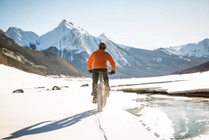 Fatbiken in de sneeuw anders après skiën