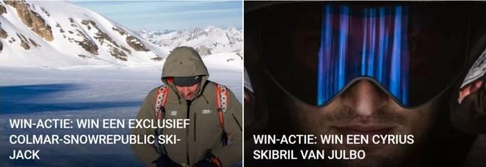 Wintersport win-acties!