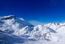 verse sneeuw in tirol