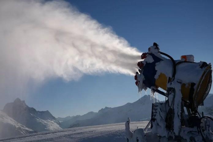 sneeuwkanonnen leidingen bevriezen