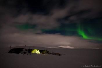 Nooit meer slapen, Finnmarkplateau Jolly Nomad 120