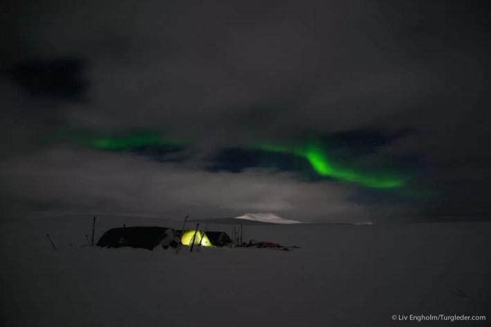 Nooit meer slapen, Finnmarkplateau Jolly Nomad 130